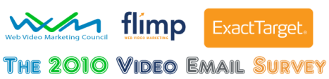 The Web Video Marketing Council, Flimp Media and ExactTarget Present the 2010 Video Email Survey